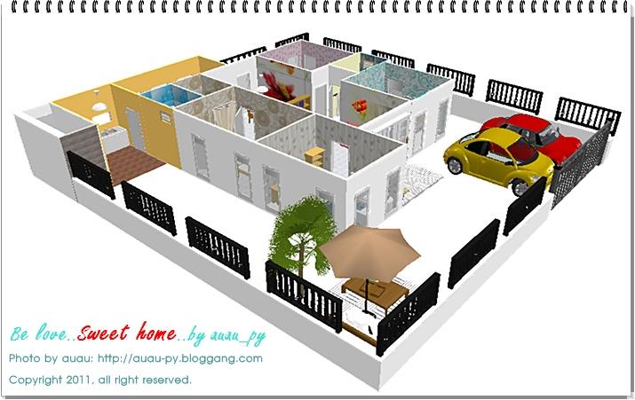 auau py it 39 s my home vol2. Black Bedroom Furniture Sets. Home Design Ideas