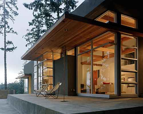 for Hillside house plans with a view