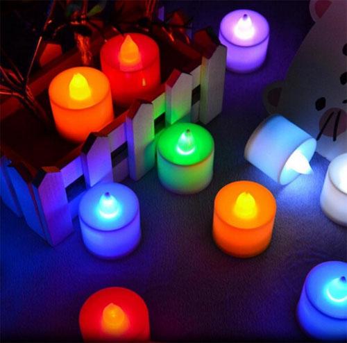 เทียน LED