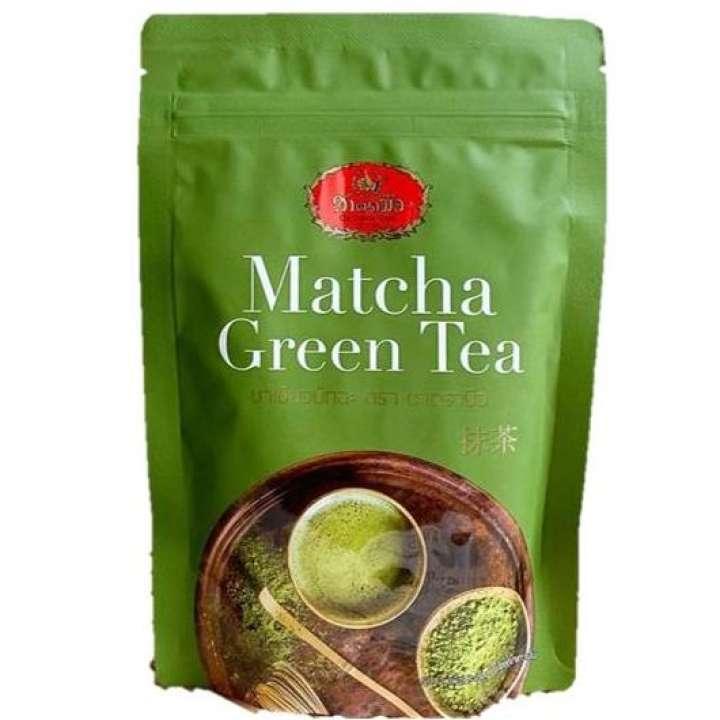 Tea ชาเขียว มัทฉะชาตรามือ