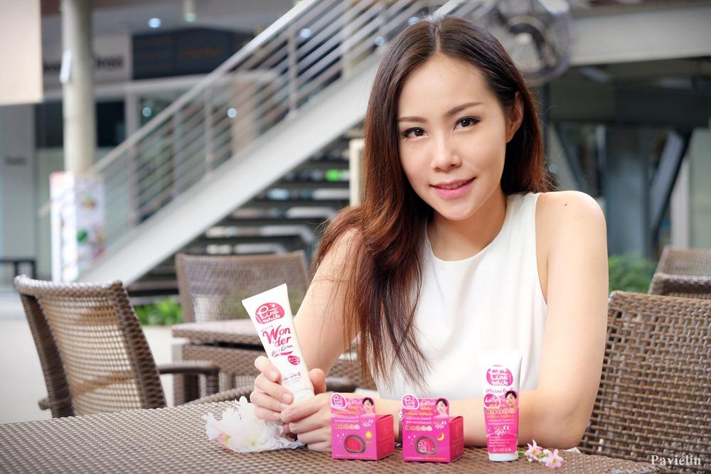 Pink White Miracle 5 Day nuffnang blogger bloggerati