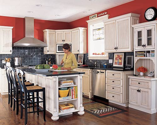 White Kitchen Cabinets With Red Walls Ideas Last News