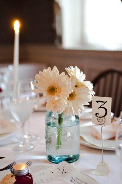 ดอกเยอบีร่าประดับงานแต่ง