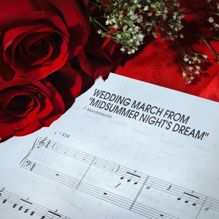 เพลงรักสร้างความโรแมนติกในงานแต่งงาน